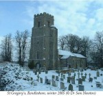 St Gregory's, Rendlesham, winter 2005 (© Dr Sam Newton)